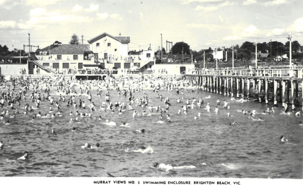 Brighton Beach Swimming Enclosure